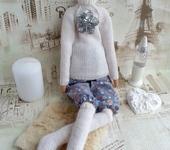 Куклы Тильды - Тильда - Альпийская дачница, тильда в свитере