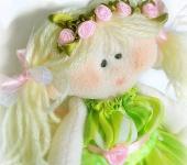 Изготовление кукол, игрушек - Текстильная кукла Сонечка