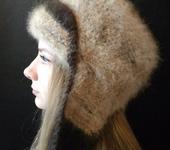 Головные уборы - шапки-ушанки из собачьей шерсти