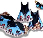 Одежда для девочек - Сарафан, имитирующий крылья бабочки Анютины глазки