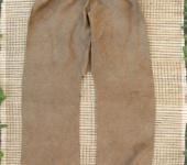Брюки, шорты - Порты, окрашенные вручную дубовой корой