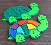 Развивающие игрушки - Сортер «Черепаха»