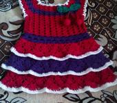 Одежда для девочек - платье вишенка