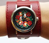 Другие аксессуары - Кожаный браслет для часов