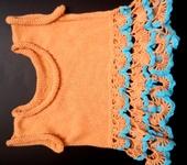 Одежда для девочек - Вязаный комплект для девочки.