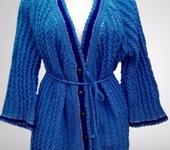 Кофты и свитера - Кардиган большого размера