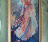 Вышитые картины - Вышитая картина Богиня плодородия