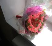 """Цветы - Букет из бумажных цветов """"Сердце"""""""