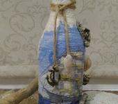 "Декоративные бутылки - Декоративная бутылка  "" Морская 1 """