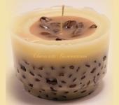 Свечи ручной работы - Кофейная Свеча ручной работы