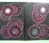 Обложки для паспорта - точечная роспись