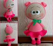 Вязаные куклы - куколка Бонни
