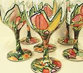 """Бокалы, стаканы, рюмки - Бокалы """"Весна"""""""