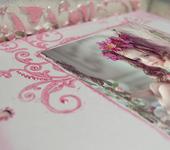 """Оригинальные подарки - Фотоальбом - сундук """"Замок принцессы"""""""