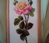 Вышитые картины - Вышитая картина Роза