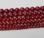 Фурнитура для бижутерии - Агат красный  90шт