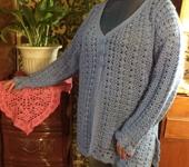 Кофты и свитера - Кардиган с люрексом