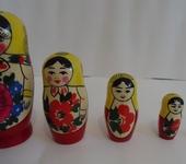 Народные куклы - Матрёшка деревянная