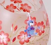 Оригинальные подарки - Подвески стеклянные Тедди