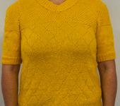 Кофты и свитера - джемпер женский желтый