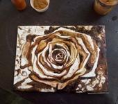 Живопись - .Кофейная  Роза