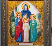Картины со стразами - Икона Вера Надежда Любовь и мать их София