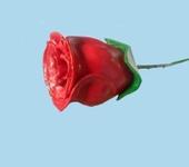 Элементы интерьера - роза из дерева резная сувенирная