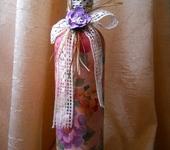 Декоративные бутылки - Бутылка Весеннее настроение.