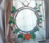 "Зеркала - Витраж зеркало ""Листва"""
