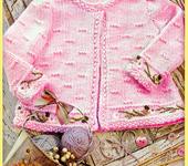 Одежда для девочек - Жакетик для девочки (набор: схема + пряжа)
