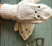 Варежки, митенки, перчатки - Варежки совушки