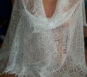 Шитье, вязание - Пуховый палантинкСказка