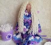 Куклы Тильды - Тильда - банный ангел, держатель ватных палочек