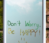 Зеркала - Зеркало ,, Don't worry be happy 2,,