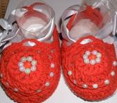 Обувь для детей - Пинетки для девочки