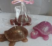 Оригинальные подарки - Мыло и свечи ручной работы ЧЕРЕПАШКИ ( 3 вида)