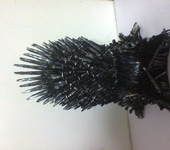 Скульптура - Железный трон фигурка статуэтка