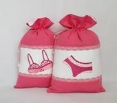 Ванная комната - Мешочек для белья с вышивкой