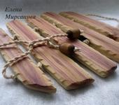Элементы интерьера - Подставка под горячее из дерева