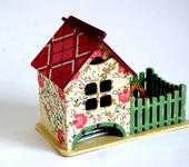 """Предметы для кухни - Чайный домик с забором """" Вкусное чаепитие"""""""