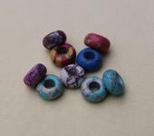 Фурнитура для бижутерии - Бусины ( природный камень) 25шт