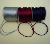 Фурнитура для бижутерии - Атласный плетённый шнур  (30м)