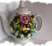 Декоративная посуда - чайник заварочный