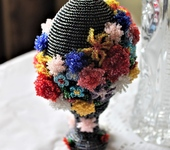 Элементы интерьера - Элементы интерьера: Пасхальное яйцо Гирлянда из цветов