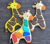 Развивающие игрушки - Сортер «Жираф»