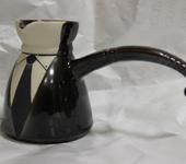 Чайники, кофейники - Турка керамика Смокинг бабочка и галстук