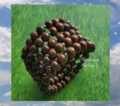 Браслеты - браслет - шоколад