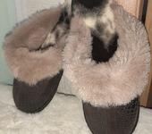Обувь ручной работы - Тапочки домашние