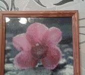 Картины со стразами - Алмазная картина Орхидея