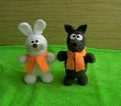 Зверята - Зайчик и Волк